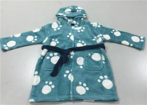 China Lovely Warm Cotten Siamese Winter Night Wear For Boys Children Long Sleeved on sale