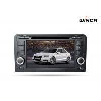 Audi A3 Wnice 8 Core Double Din Dvd Player Built in 4G GPS Navigation