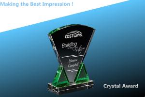 China CRYSTAL trophy/CRYSTAL GLASS/TROPHY/JADE GLASS TROPHY/AWARD/CRYSTAL AWARD on sale