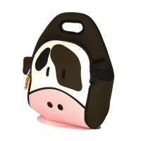 China Lovely Thermal Neoprene Lunch Tote for Boy , Cow Insulated Lunch Bags on sale