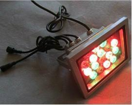 China 20W RGB 1W high power LED floodlight, internal DMX decoder on sale