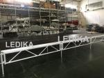 1 - 1.4m Indoor / Outdoor Assemble Aluminum Stage Platform 6082-T6 Material For Events