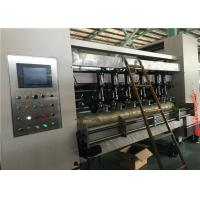 China Fast Speed Corrugated Carton Machine Zero Scorer Automatic Full Computer Control on sale