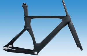 Quality 1550g Carbon Track Bike Frame 49cm 51cm 54cm 56cm HT-FM126 for sale