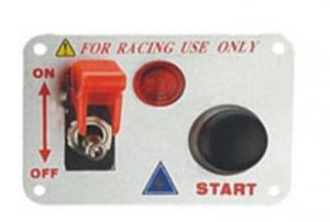 China Automotive Racing Switch Panel With Flip Up Cover , Racing Toggle Switch on sale