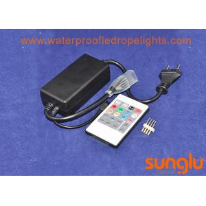 China 20 Key IR Remote RGB LED Controller 110 - 220V For High Voltage LED Strip Light on sale