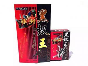 China African Black Ant Sex Pills Male Enhancement with Unique Herbal Medicine Extracts on sale