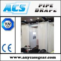 Adjustable Curtains and drapes / pipe drape for hotel with factory price