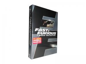 China Fast & Furious 1-7 8DVD adult dvd movie Tv boxset usa TV series Tv show on sale