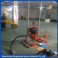 small 100m used portable water well drilling rigs for sale
