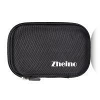 Portable SSD Accessories HDD Case Bag Black Shockproof Zipper External