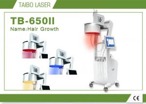 China 3 Light Yellow Blue Red Diode Laser Hair Loss Treatment For Hair Regrowth on sale