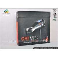 Earphone Cardboard Packing Boxes Full Color Printed With Magnetic Folding Lid
