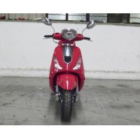 Nice Shape Adult Motor Scooter Red 150cc Lady Scooter With Rear View Mirror