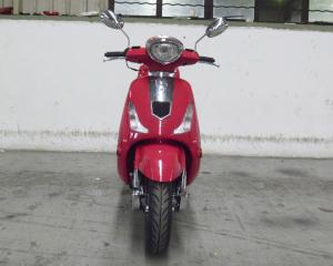 China Nice Shape Adult Motor Scooter Red 150cc Lady Scooter With Rear View Mirror on sale