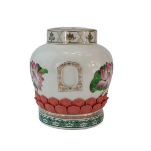 Quality custom ceramic cremation urn exported funeral supply wholesale ceramic cremation for sale