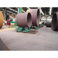 China 10T Cylinder Steel Pipe Welding Rollers / Self-aligning Welding Rotator 2 x 0.55kw on sale