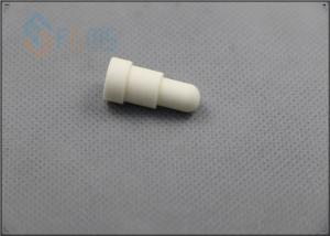 China Roundness Custom Ceramic Parts , Alumina Ceramic Components For Cell Phone Cover on sale