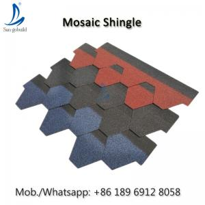 China Factory Sale Chinese Villa Color Roof Shingles, Asphalt Roof Shingle Tiles Price In Philippines on sale