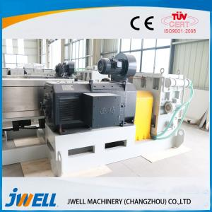 China Anti Moth WPC Extrusion Line Inner Decoration Board Lightweight With Printing Equipment on sale
