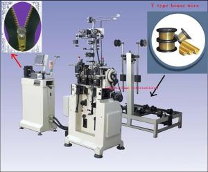 China Y type teeth zipper making machine       on sale