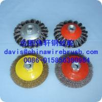 Crimped Wire Bevel Brushes