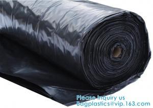 China 6 Mil Polyethylene Sheeting Roll Black Plastic Sheeting, Plastic Tarp, Plastic Mulch, Weed Barrier, Concrete Moisture on sale