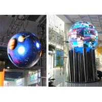 Custom 360 Degree LED Video Display / RGB Circular Advertising LED Screen Indoor