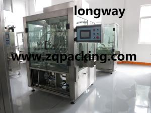 China High Efficiency1-5liter Peanut Oil Filling Machine with Self Cleaning System on sale