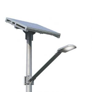 China Green eco friendly Solar LED Street Light 60w / 150w 75 Ra with Epistar / Bridgelux chip on sale
