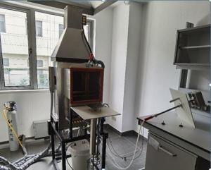 China FAA Aircraft Materials Fire Test Handbook, Chapter 5 Tester for Rate of Heat Release on sale