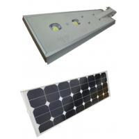 Waterproof Solar Powered Led Street Lights 60W With  Intelligent Light Control