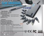 adaptadores universais magros do portátil da C.A. do poder 90W com exposição de diodo emissor de luz AC100 - 240V, 1.2A