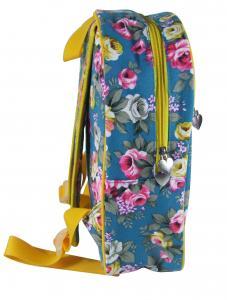 0e96e8afc4de ... Quality Skyblue Girls Fashion Bags Flower Print Womens Backpacks School  Bookbag for sale ...