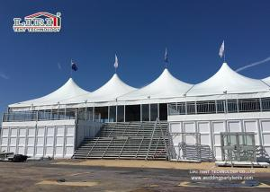 China 25M x 50M  Double Decker High Peak Tents with ABS Hard Wall for Beer Festival on sale