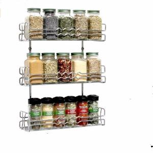 China Home decoration under cabinet Spicy Shelf Stackable Organizer Spice Rack on sale