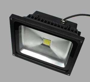 China 30W Color Changing Outdoor LED Flood Light black housing black LED Flood light 30W on sale