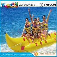 Banana Boat Inflatable Water Toys / Water Towable Tube with Customized Size