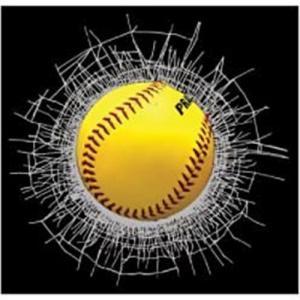 China 3D baseball static cling on sale