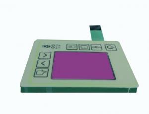 China Static - Free Waterproof Membrane Switch 24V Ultrathin 0.8mm Hard Coating on sale