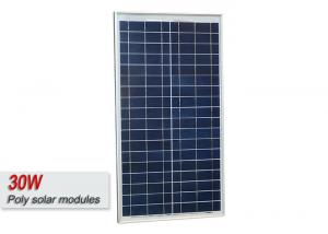 China High Efficiency 30 Watt Poly Solar Panel , Polycrystalline PV Solar Panel  on sale