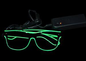 China Fun Festival Led Flashing Glasses Battery Powered Illuminated Sunglasses on sale