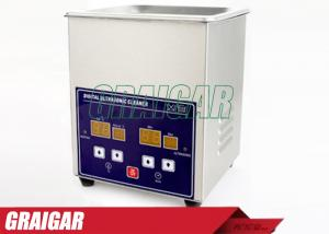 China Digital Ultrasonic Cleaner Ultrasonic Cleaning Equipment 1.3L for Glasses , Razor ,  Jewellery on sale