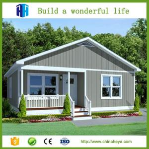 China prefab house for sale EPS/rockwool insulation steel structure prefab house on sale