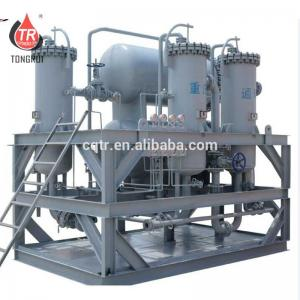 China 100 L/Min Transformer Oil Filtration And Dehydration Plant ZJD-F No Need Heating on sale