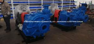 China Solids Washing Heavy Duty Slurry Pump 100ZGB Designed and Developed by Chinese Engineers on sale
