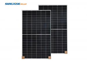 China IP68 415W-144M 24KG Portable Half Cell Solar Panel For Home Use on sale