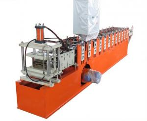 China Galvanized Steel Guiding Column Shutter Door Roll Forming Machine Thickness 1.5-3.0mm on sale