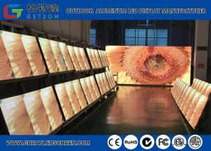 China Vivid Color GS8 Stage Background Outdoor SMD Led Screen PH6 With 8000 cd/㎡ on sale