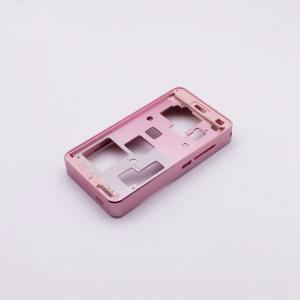 China High Precision Aluminum Cases CNC Machining Parts In Pink Color Anodized on sale